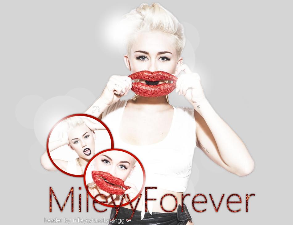 MileyyForever - Din bästa Svenska Miley Ray Cyrus blogg.